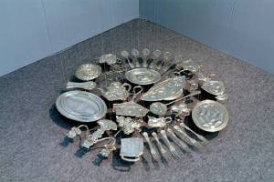 cornelia-parker-30-pieces-of-silver