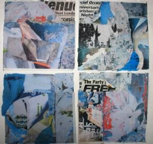 peeling papers